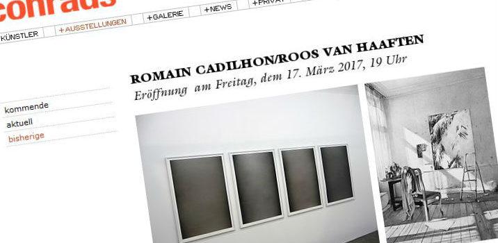 ROMAIN CADILHON/ROOS VAN HAAFTEN